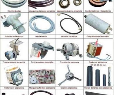 Venta de recambios para electrodomésticos Terrassa