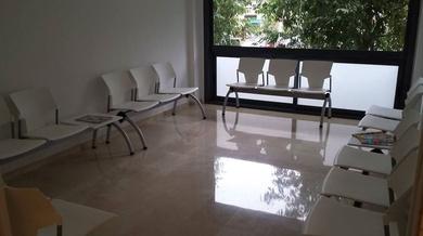 montaje de sala de espera en centro medico en Sant Boi de llobregat