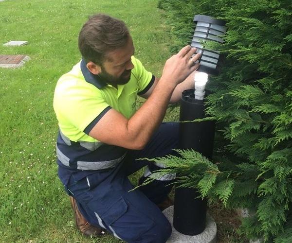 Limpieza y mantenimiento de jardines