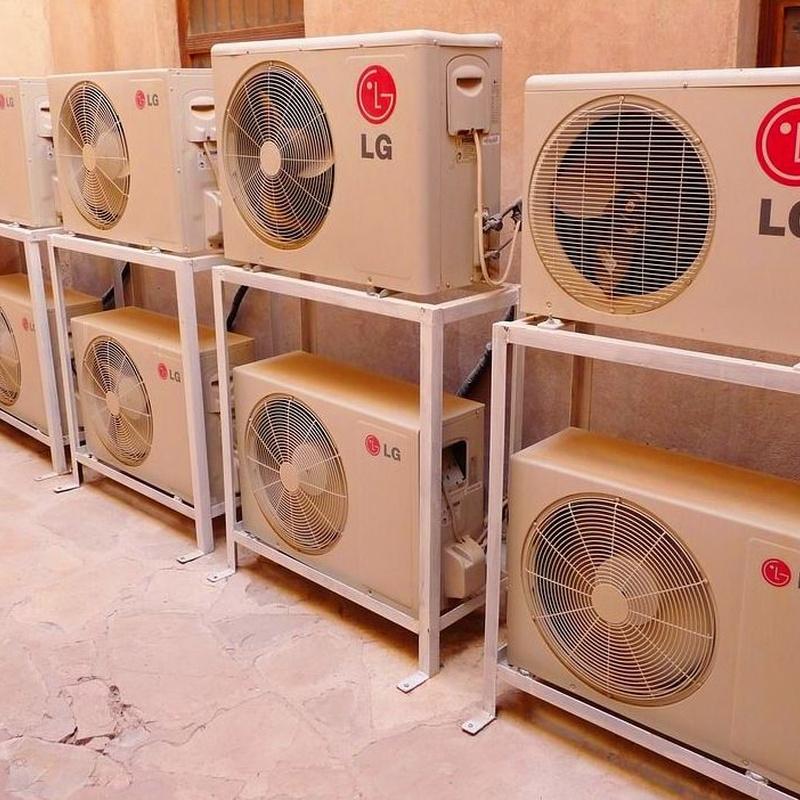 Reparar aire acondicionado en Hellin