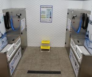 Máquinas adaptadas para el autolavado de perros en Madrid