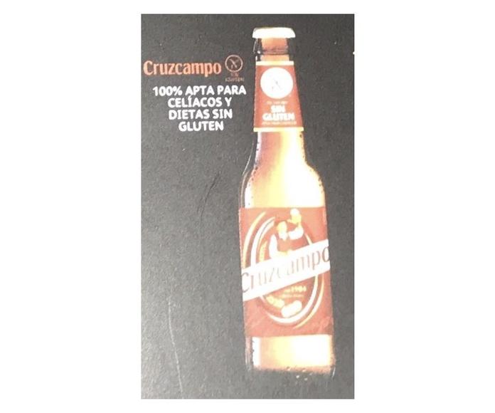 Nueva Cruzcampo Sin Gluten: En nuestro local de Cervecería Ca'Melán