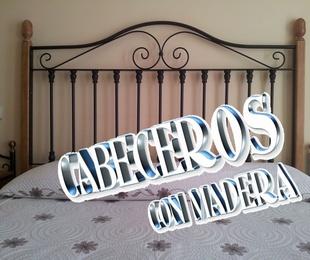CABECEROS CON MADERA