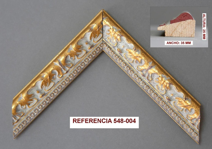 REF 548-004: Muestrario de Moldusevilla