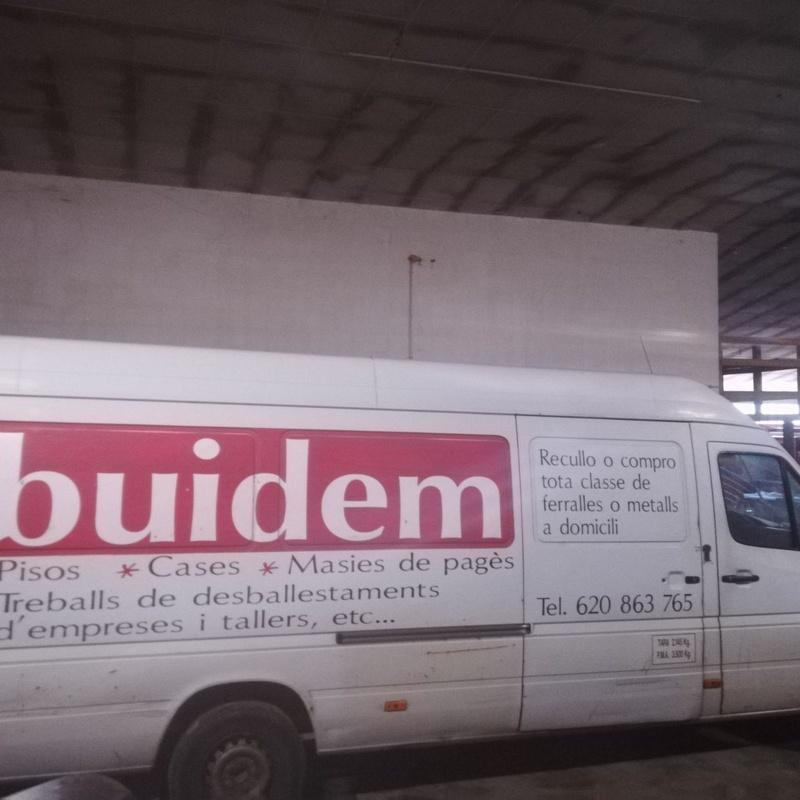 Pequeñas mudanzas: Productos y servicios de Buidem