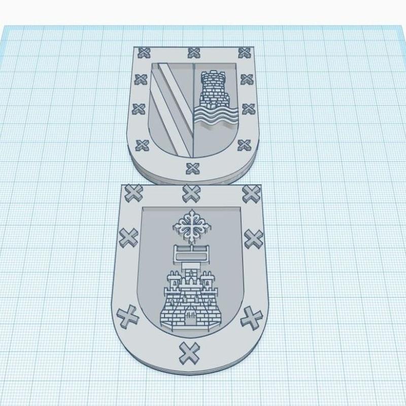 Escudos en 3D y montajes con metal y pedreria: Productos y servicios de El Mon Fester