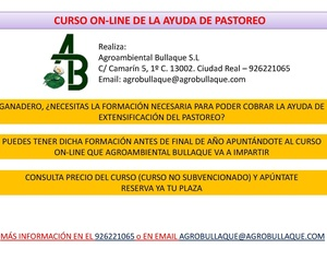 CURSO ONLINE PASTOREO