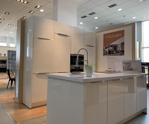 Un ambiente acogedor con una cocina perfecta