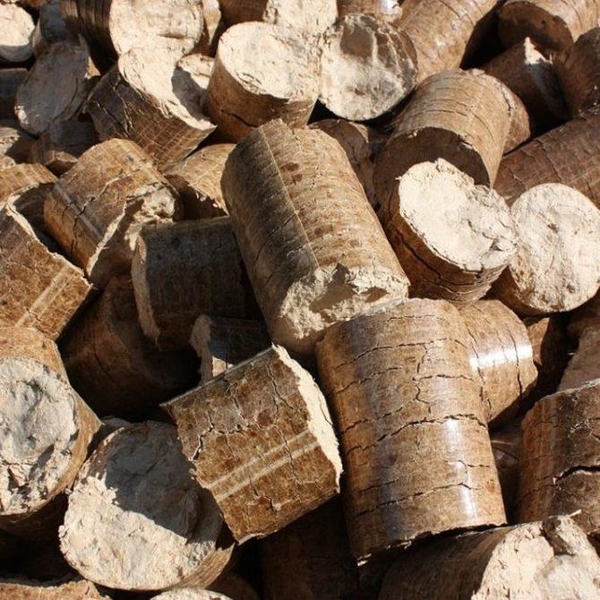 Algunas diferencias entre briquetas y pellets