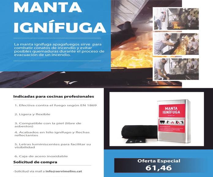 Complementos Ignífugos: Servicios de Servimolins