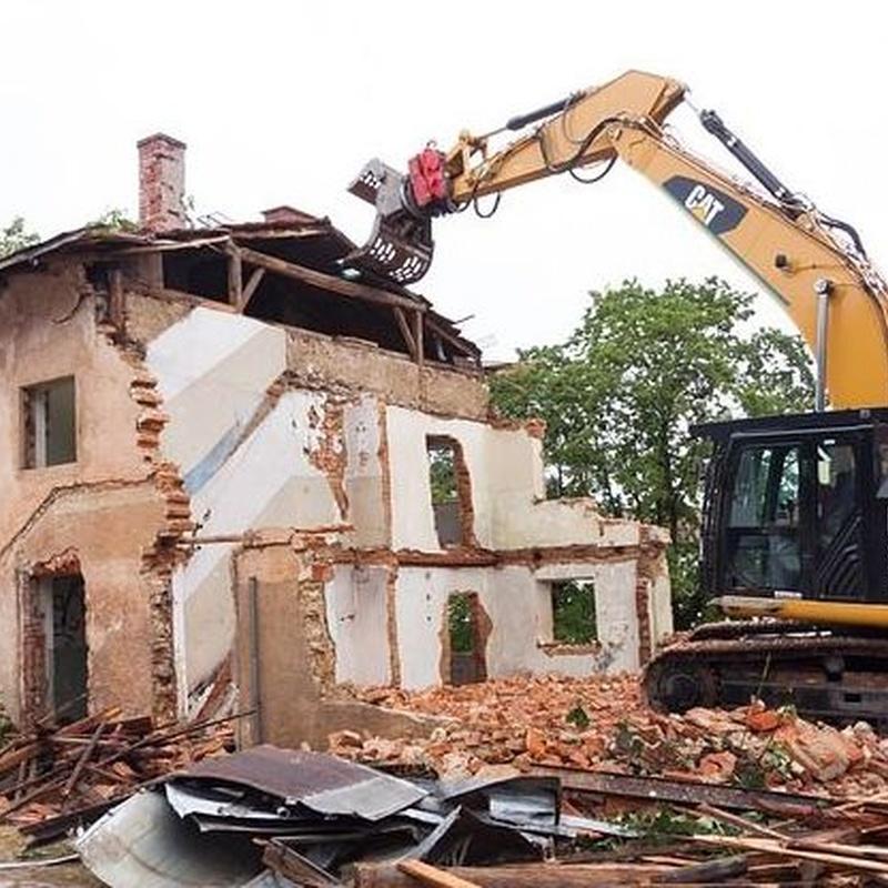 Demoliciones y derribos: Servicios de Enderrocs SBD