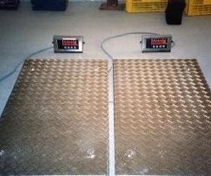 Básculas portátiles para ganado en aluminio tanto abiertas como cerradas