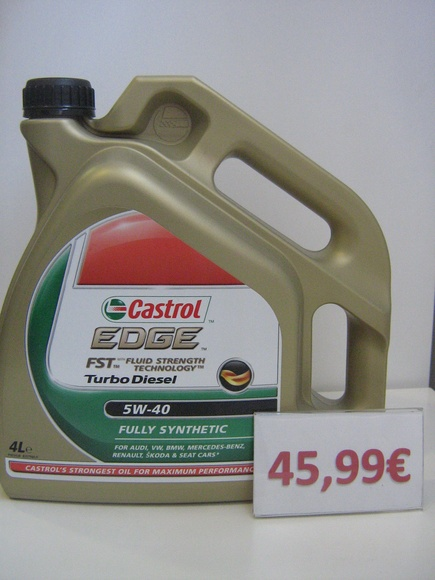 CASTROL 5W40: Servicios de Safety Car