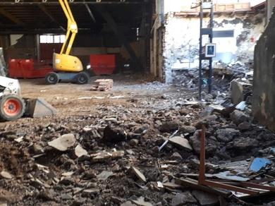 Demolicion Parque San Francisco