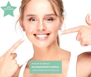 Promoción blanqueamiento dental