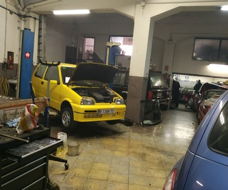 Cambio de neumáticos: Servicios de Taller Joan Carles