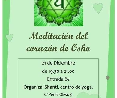 Meditación del corazón de Osho