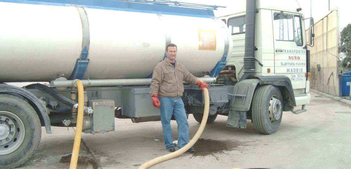 Suministro de agua en Madrid centro en camiones cisterna