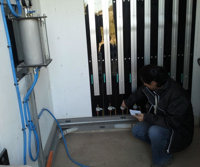 Asisntecia técnica a la Dirección de Explotación de la presa de Sant. Martí de Tous. Control y monitoreo del sistema de auscultación (piezómetros cuerda vibrante y células hidráulicas).