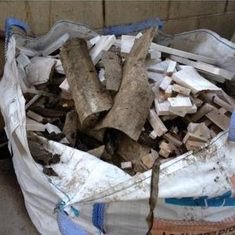Escombros de Fibrocemento: Catálogo de DERRIBOS  Y DESESCOMBROS