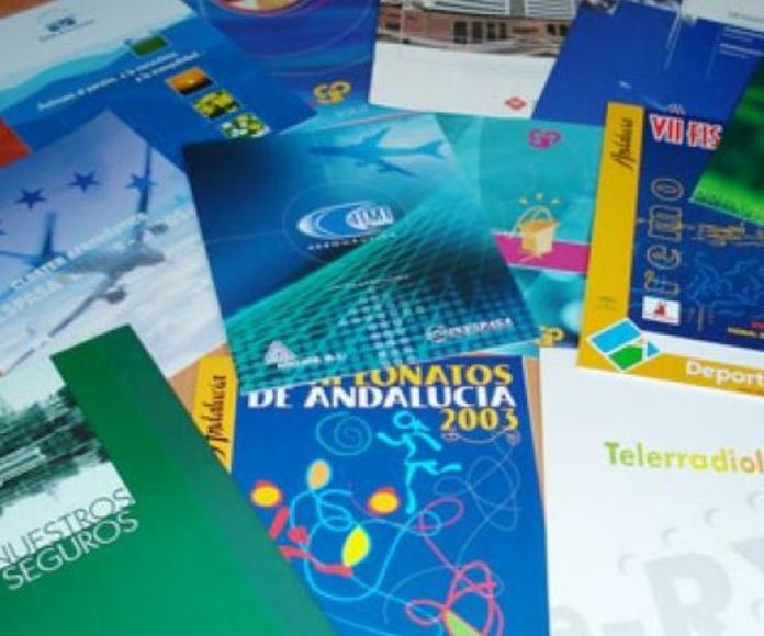 Impresión de folletos Sevilla