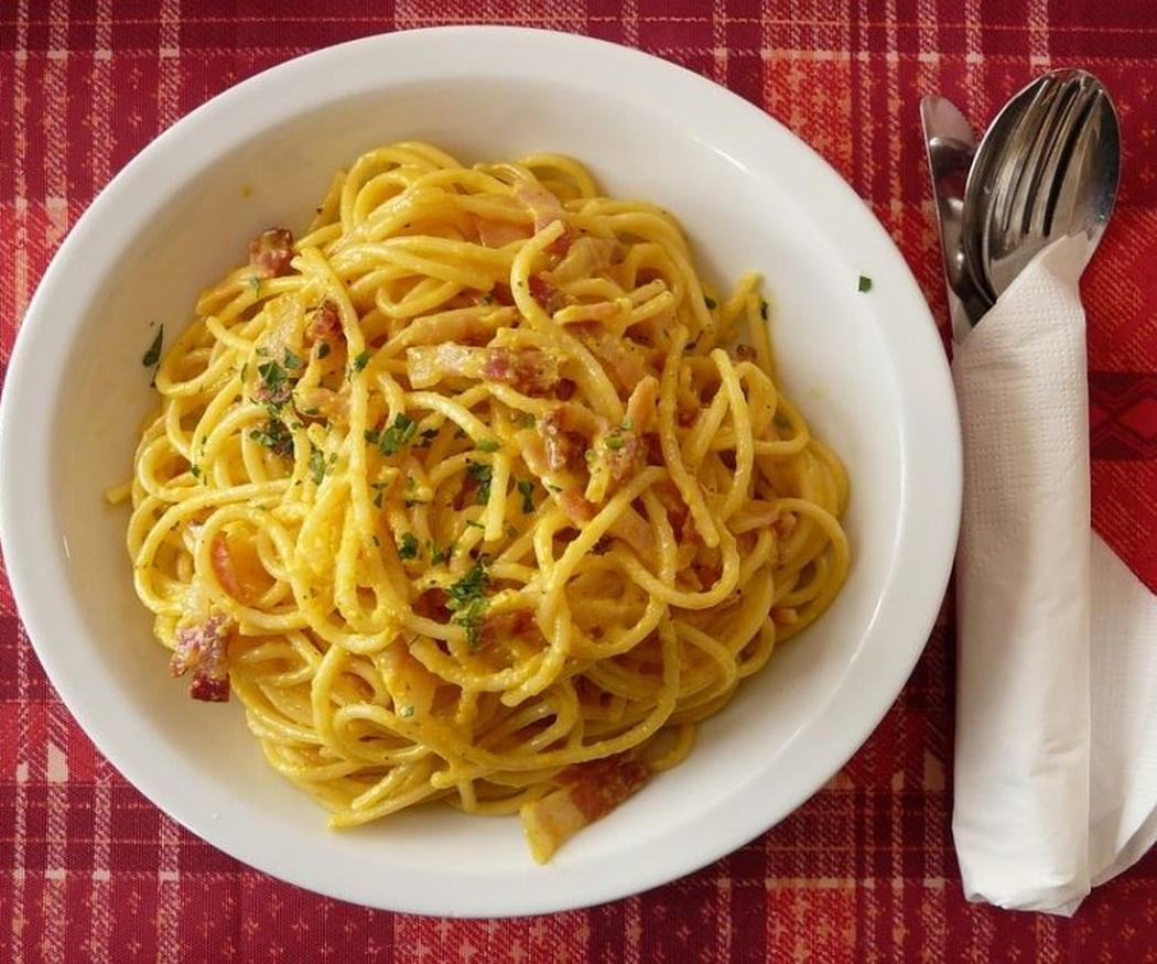 Los espaguetis a la carbonara, un clásico que no falla