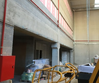 Sistemas fijos de extinción por agentes extintores gaseosos: Servicios de ALDA Instalaciones