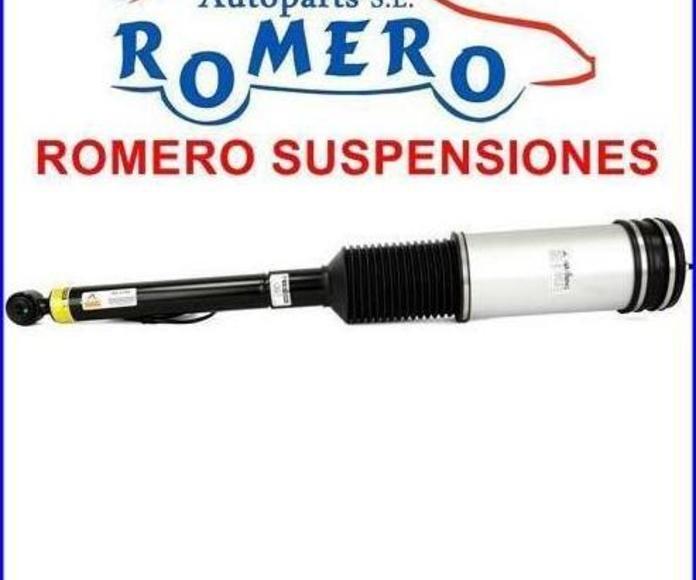 Amortiguador trasero Mercedes serie S W220 Remanufacturado: Suspensiones y vehículos de Romero Autoparts Zaragoza