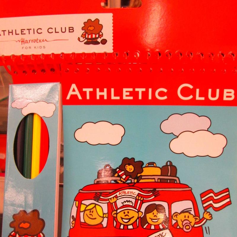 Athletic. Block dibujo con pinturas