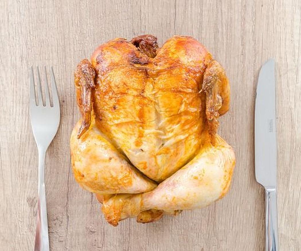 El pollo asado: aporte nutricional y beneficios para la salud