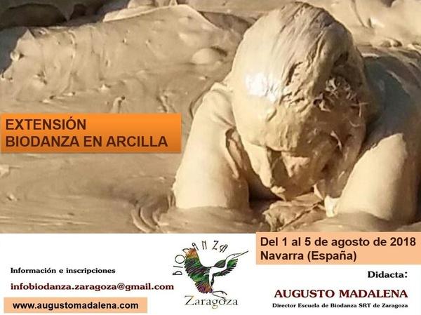 Extensión Biodanza en Arcilla 2018. Augusto Madalena.