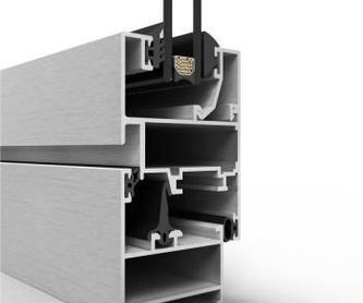 COR - 70 R.P.T. Hoja oculta: Productos de Aluminios Quatro