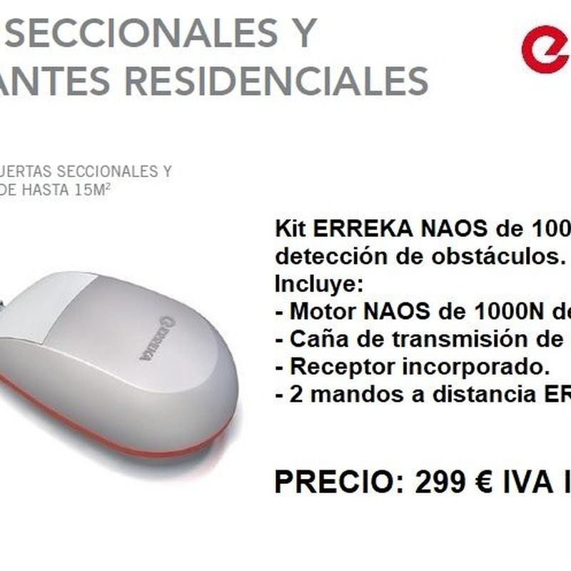 Kit Erreka Naos 1000N: Servicios de Puertas automáticas Odiel