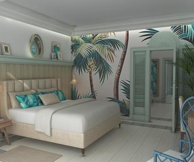 Habitación familiar en White Hills Colonial Resort