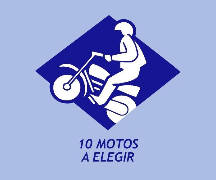 10 MOTOS A ELEGIR