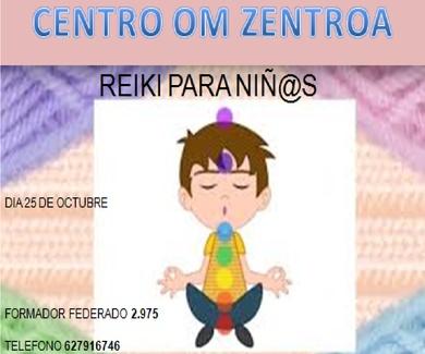 Curso de primer nivel de Reiki para niñ@s , En Eibar, en Octubre