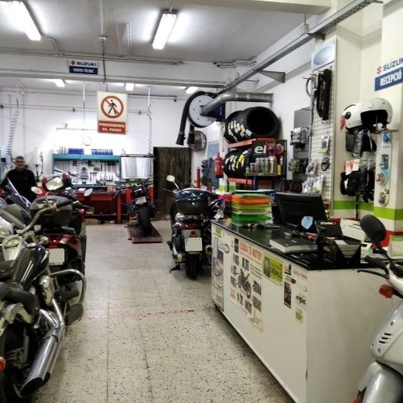 Servicio Oficial Kawasaki, Suzuki, Honda y Kymco: Servicios de Power Motos