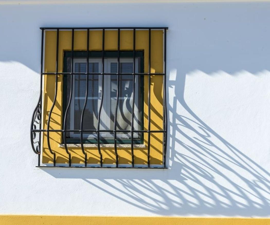Rejas en las ventanas; seguridad por fuera y por dentro