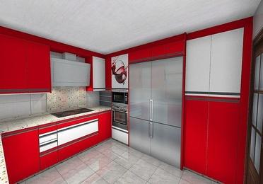 Cocinas 3-D