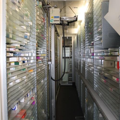 Farmacia robotizada en Las Palmas