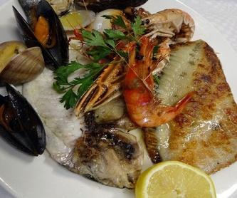 Tapas y raciones: Carta de Restaurant Rosamar
