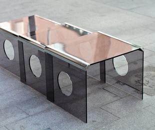 Conjunto de mesas nido italianas años 70