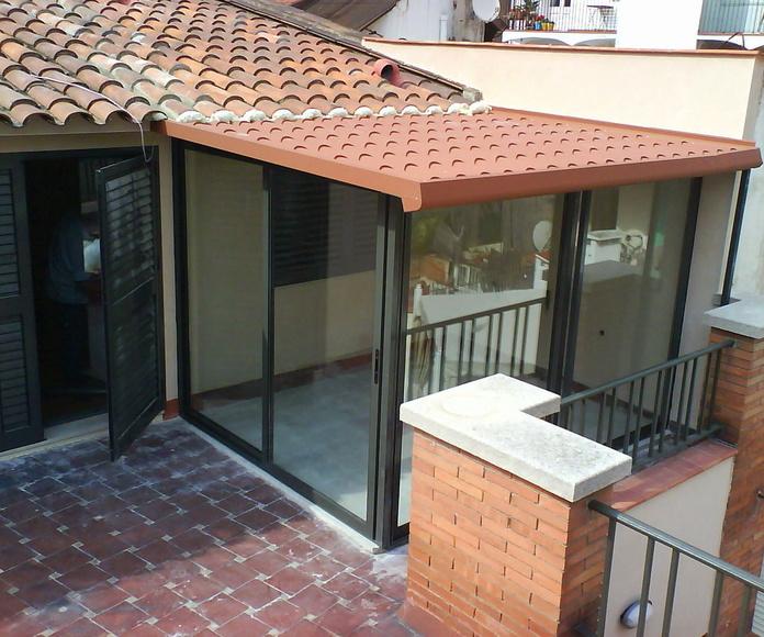Cerramientos de terraza : Productos y servicios de Metal Masa, S.L.