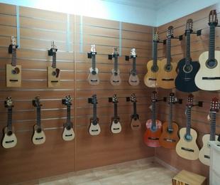 Tienda de instrumentos y accesorios para el músico