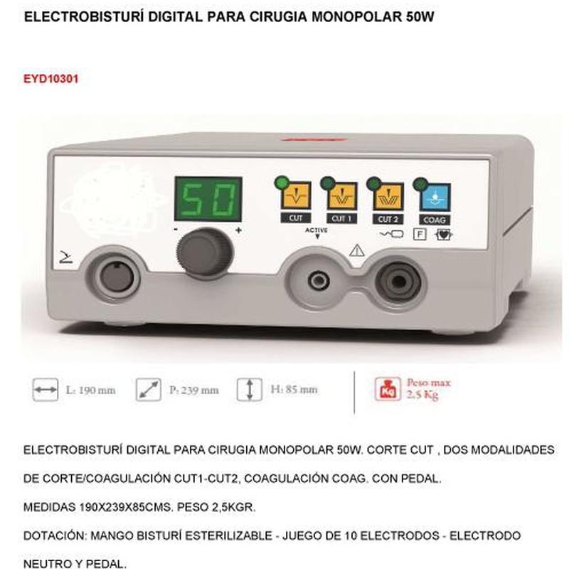 Electrobisturí  Monopolar 50W: Productos de PLUS CLINIC