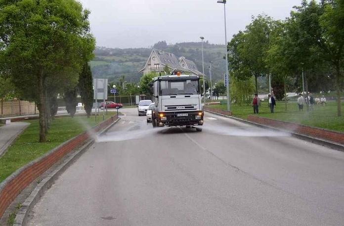 Baldeos agua a presion Asturias
