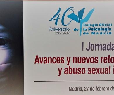 I JORNADA: AVANCES Y NUEVOS RETOS EN MALTRATO Y ABUSO SEXUAL INFANTIL