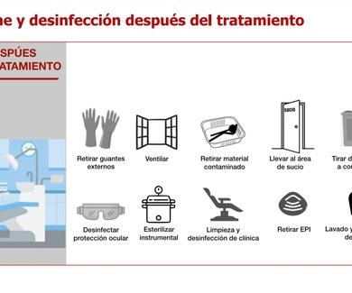 HIGIENE Y DESINFECCION DESPUES DEL TRATAMIENTO