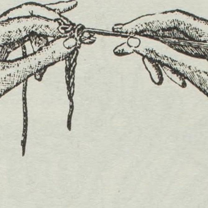 El bordado y otras labores textiles antiguas