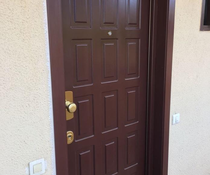 puertas Blindadas: Servicios de Carpintería Madecor